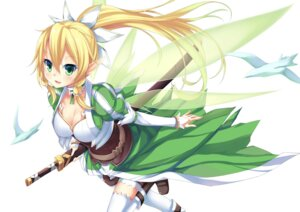 Rating: Safe Score: 42 Tags: alfheim_online cleavage garter huohai leafa pointy_ears sword sword_art_online thighhighs wings User: 椎名深夏