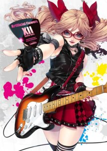 Rating: Safe Score: 36 Tags: guitar kunishige_keiichi megane thighhighs User: blooregardo