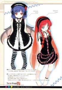 Rating: Safe Score: 21 Tags: gothic_lolita hong_meiling lolita_fashion mizoguchi_keiji ntype remilia_scarlet touhou User: airsakura