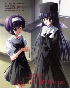 Rating: Safe Score: 8 Tags: amamiya_yuuko ef_~a_fairytale_of_the_two~ nanao_naru seifuku shindou_kei User: admin2