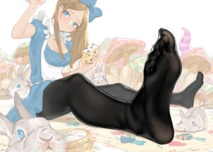 Rating: Safe Score: 58 Tags: alice alice_in_wonderland dress feet pantyhose yom User: Mr_GT