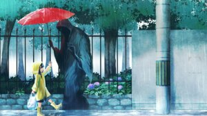 Rating: Safe Score: 39 Tags: landscape namacotan umbrella wallpaper User: charunetra