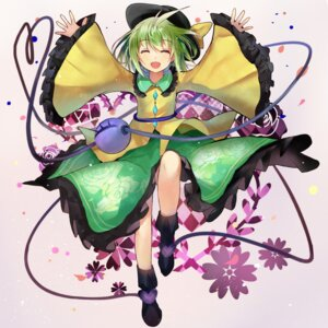 Rating: Safe Score: 25 Tags: dress efe komeiji_koishi touhou User: fairyren