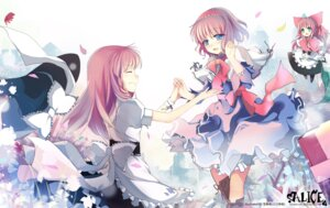 Rating: Safe Score: 20 Tags: alice_margatroid kirisame_marisa shanghai sheska_xue touhou wallpaper User: Mr_GT