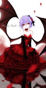Rating: Safe Score: 29 Tags: cleavage dress remilia_scarlet sheya touhou wings User: Mr_GT