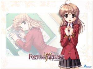 Rating: Safe Score: 9 Tags: bekkankou fortune_arterial seifuku wallpaper yuuki_haruna User: admin2