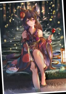 Rating: Safe Score: 18 Tags: animal_ears hololive japanese_clothes occa-key ookami_mio wet User: Mr_GT