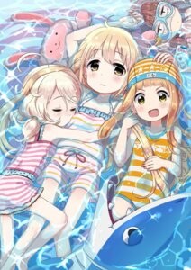 Rating: Safe Score: 41 Tags: futaba_anzu ichihara_nina kingin munakata_atsumi swimsuits the_idolm@ster the_idolm@ster_cinderella_girls yusa_kozue User: blooregardo
