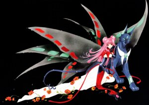 Rating: Safe Score: 10 Tags: card_captor_sakura clamp fixed ruby_moon spinel_sun wings User: cosmic+T5
