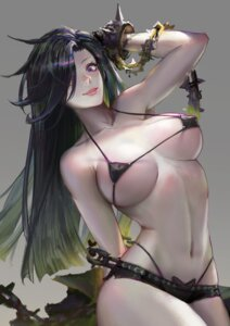 Rating: Questionable Score: 77 Tags: bikini erect_nipples swimsuits underboob youyi User: mash