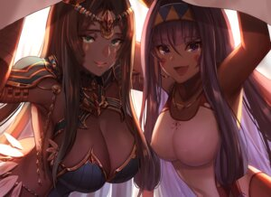 Rating: Safe Score: 58 Tags: armor cleavage dolce_(dolsuke) erect_nipples fate/grand_order nitocris_(fate/grand_order) scheherazade_(fate/grand_order) swimsuits User: Mr_GT