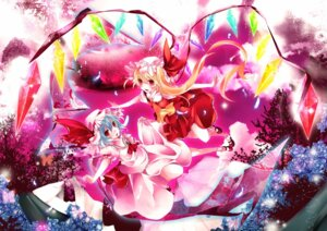 Rating: Safe Score: 6 Tags: flandre_scarlet remilia_scarlet sanada_nako touhou wings User: charunetra