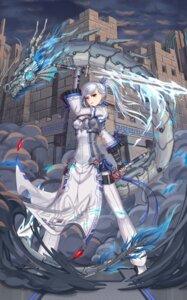 Rating: Safe Score: 23 Tags: armor brilliant_naraku cleavage mecha sword User: Mr_GT