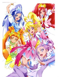 Rating: Questionable Score: 3 Tags: bike_shorts dokidoki!_precure dress pretty_cure thighhighs User: drop
