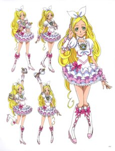 Rating: Questionable Score: 7 Tags: dress heels minamino_kanade pretty_cure suite_pretty_cure takahashi_akira weapon User: drop