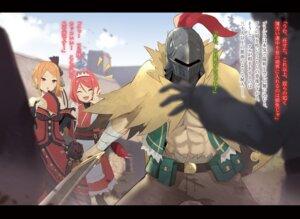 Rating: Safe Score: 9 Tags: armor bandages cleavage dress isegawa_yasutaka re_zero_kara_hajimeru_isekai_seikatsu sword User: kiyoe
