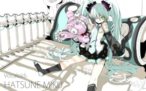 Rating: Safe Score: 17 Tags: hatsune_miku vocaloid wallpaper yume_koreshiki User: yumichi-sama