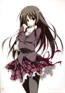 Rating: Safe Score: 28 Tags: akaba_chizuru inugami_kira seifuku seitokai_no_ichizon thighhighs User: WtfCakes