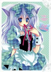 Rating: Safe Score: 6 Tags: animal_ears kannon_ouji lolita_fashion nekomimi neuromancer. tenjikuya User: petopeto