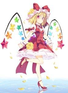 Rating: Safe Score: 38 Tags: dress flandre_scarlet heels satoukibi touhou wings User: DarkRoseofHell