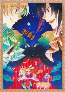 Rating: Questionable Score: 6 Tags: male mochizuki_jun oz_vessalius pandora_hearts User: scathach