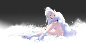 Rating: Safe Score: 44 Tags: cait dress heels rwby skirt_lift weiss_schnee User: charunetra