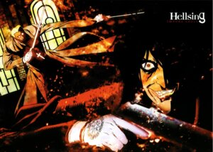 Rating: Safe Score: 3 Tags: alexander_anderson alucard gun hellsing male sword User: Radioactive