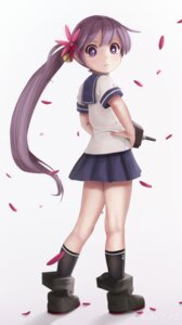 Rating: Safe Score: 25 Tags: akebono_(kancolle) kantai_collection novcel seifuku User: Humanpinka