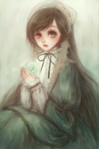 Rating: Safe Score: 2 Tags: dress heterochromia rozen_maiden suiseiseki yukishiro User: charunetra