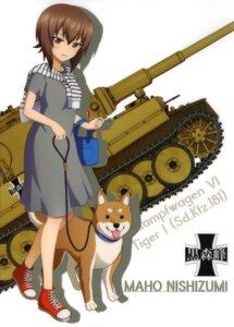 Rating: Safe Score: 18 Tags: dress girls_und_panzer nishizumi_maho User: drop