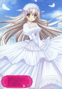 Rating: Safe Score: 40 Tags: 11eyes bunbukudou dress lisette_vertorre narumi_yuu User: syaoran-kun