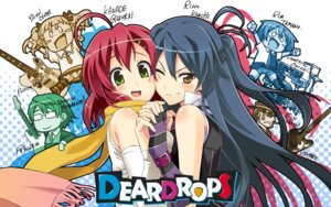 Rating: Safe Score: 19 Tags: chibi deardrops fujimaru overdrive_(company) wallpaper User: blooregardo