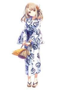 Rating: Safe Score: 64 Tags: dougo_izumi h2so4 onsen_musume yukata User: hiroimo2