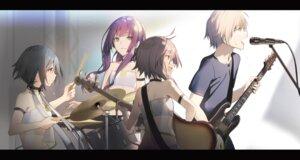 Rating: Safe Score: 19 Tags: akinashi_yuu guitar User: kiyoe