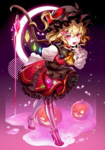Rating: Safe Score: 13 Tags: blood flandre_scarlet halloween harusame_(user_wawj5773) heels touhou wings User: Mr_GT