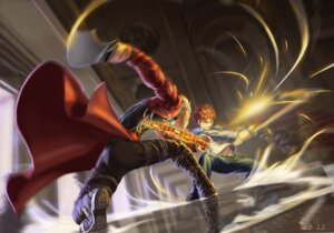 Rating: Safe Score: 25 Tags: archer emiya_shirou fate/stay_night feitie male sword User: Mr_GT
