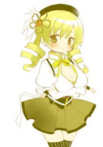 Rating: Safe Score: 14 Tags: breast_hold cleavage puella_magi_madoka_magica thighhighs tomoe_mami tsubaki_(tatajd) User: Radioactive
