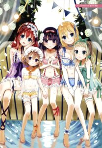 Rating: Questionable Score: 70 Tags: amano_miu blend_s bra cleavage color_issue feet garter hinata_kaho hoshikawa_mafuyu kanai_chisaki kanzaki_hideri lingerie sakuranomiya_maika see_through trap User: fireattack
