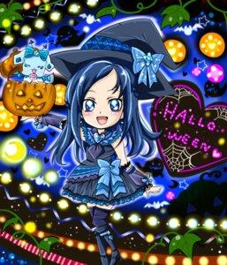 Rating: Questionable Score: 8 Tags: chibi dokidoki!_precure halloween hishikawa_rikka pretty_cure rakeru_(precure) User: mioxnorman