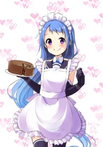 Rating: Safe Score: 13 Tags: kantai_collection maid minidraco samidare_(kancolle) thighhighs User: Mr_GT