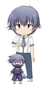 Rating: Safe Score: 9 Tags: baka_to_test_to_shoukanjuu chibi kuena male tsuchiya_kouta User: SubaruSumeragi