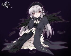 Rating: Questionable Score: 20 Tags: akinoko gothic_lolita lolita_fashion nopan rozen_maiden suigintou User: Radioactive