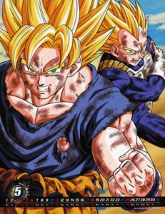 Rating: Safe Score: 6 Tags: calendar dragon_ball male son_goku vegeta User: Radioactive
