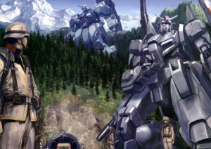 Rating: Safe Score: 10 Tags: gun gundam gundam_unicorn landscape male mecha msz-006a1_zeta_plus uniform weapon User: drop