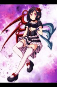 Rating: Safe Score: 16 Tags: houjuu_nue s-syogo thighhighs touhou wings User: charunetra
