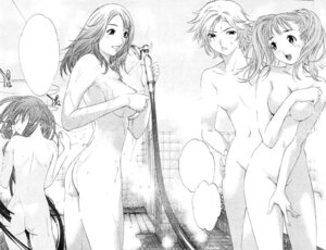 Rating: Questionable Score: 21 Tags: air_gear ass bathing breast_hold monochrome naked noyamano_mikan noyamano_rika noyamano_ringo noyamano_shiraume oh!_great wet User: Radioactive