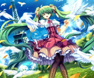 Rating: Safe Score: 38 Tags: capura.l hatsune_miku pantyhose vocaloid User: SciFi