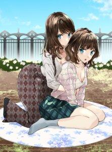 Rating: Safe Score: 28 Tags: cleavage fujisaki_ribbon yuri User: Spidey