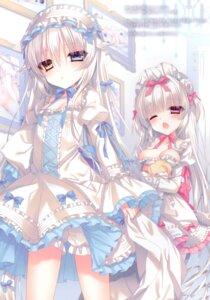 Rating: Safe Score: 39 Tags: bloomers dress gothic_lolita heterochromia lolita_fashion tsukikage_nemu User: kiyoe