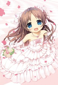 Rating: Safe Score: 61 Tags: cura digital_version dress lose monobeno sawai_natsuha wedding_dress User: Twinsenzw